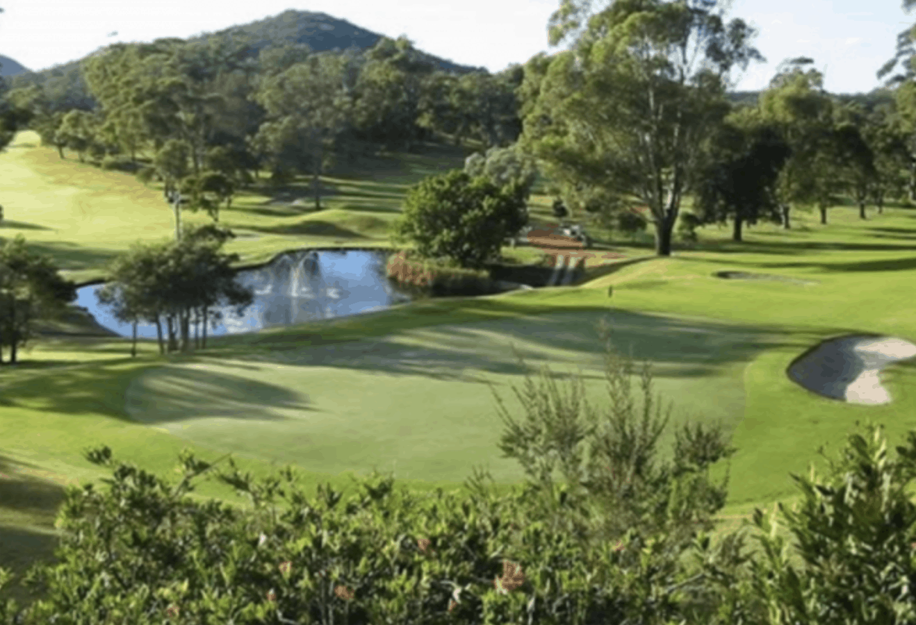 golfing Homes Nelson Bay Golf Club Port Stephens NSW