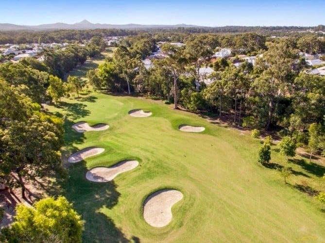 Golfing Homes Peregian Springs Golf Club Sunshine Coast Queensland