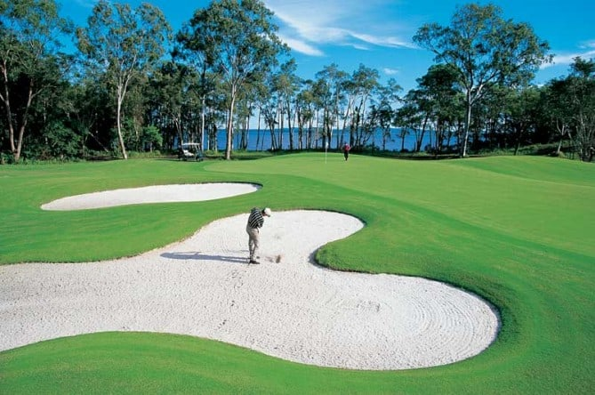 golfing homes Noosa Springs golf and spa resort Sunshine Coast Queensland