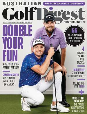 Golfing Homes Australian Golf Digest magazine February 2020